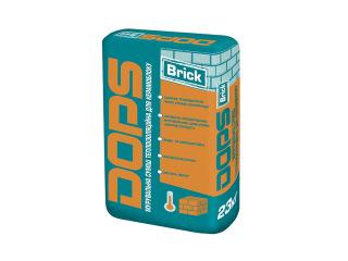 Dops (Допс) Brick 20кг Кладочная смесь теплоизоляционная для керамоблока