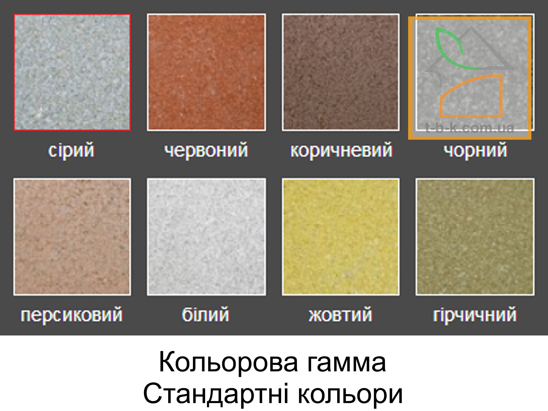 Плитка тротуарная Кирпич стандартный Золотой Мандарин - Фото 1
