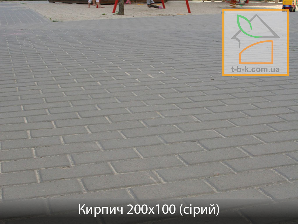 Плитка тротуарная Кирпич стандартный Золотой Мандарин - Фото 6