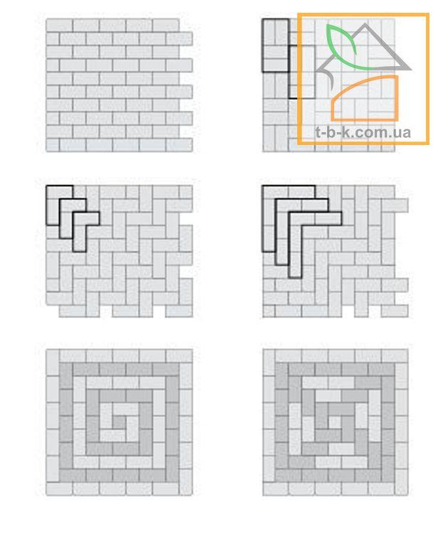 Плитка тротуарная Кирпич стандартный Золотой Мандарин - Фото 3