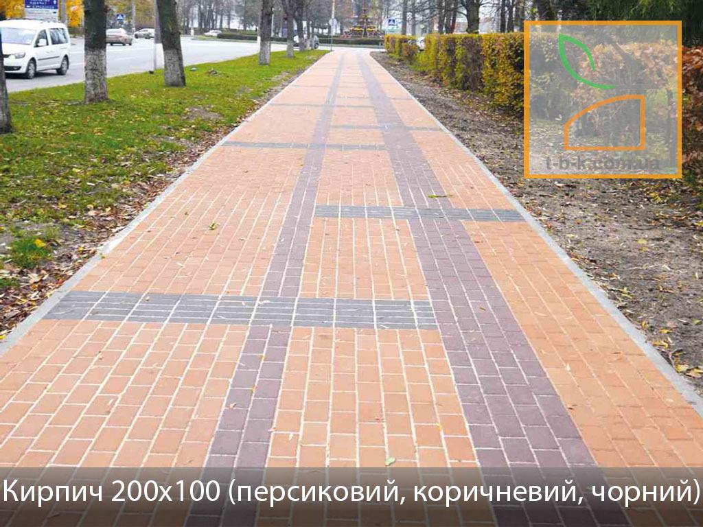 Плитка тротуарная Кирпич стандартный Золотой Мандарин - Фото 17