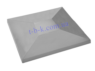 Картинка Кришка на стовпчик 450х570х100