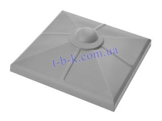 Крышка на столбик ЧЗ С ШАРОМ 510х510
