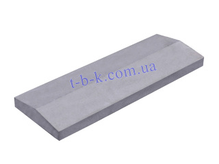 Картинка парапет бетонний на забор 1000*250*50