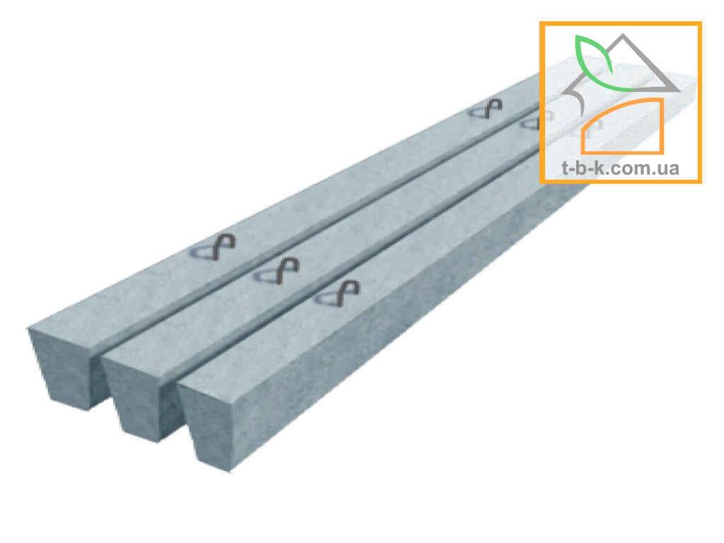 Столб шпалерный бетонный ДБА 80*80*4700 для антиградовых систем и других  с/х нужд и ограждений
