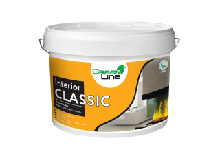 Green Line INTERIOR CLASSIC 1л/3л/5л/10л Акриловая краска для стен и потолков