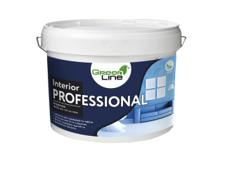 Green Line INTERIOR PROFESSIONAL 1л/3л/5л/10л Акриловая краска для стен и потолков