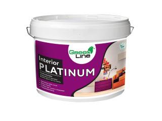 Green Line INTERIOR PLATINUM 1л/3л/5л/10л Силиконовая шелковисто-матовая краска для стен и потолков