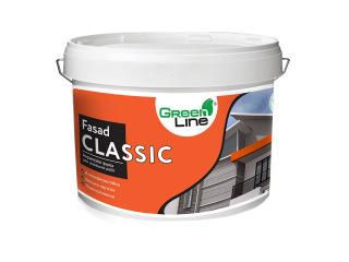 Green Line FASAD CLASSIC 1л/3л/5л/10л Фасадная акриловая краска