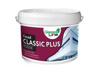 Green Line FASAD CLASSIC PLUS 1л/3л/5л/10л Фасадная акриловая краска