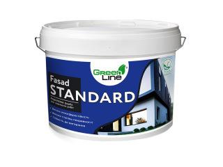 Green Line FASAD STANDARD 1л/3л/5л/10л Акриловая краска для наружных работ