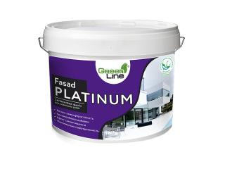 Green Line FASAD PLATINUM 1л/3л/5л/10л Фасадная силиконовая краска