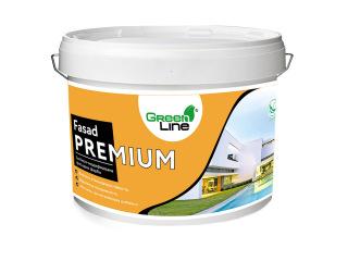 Green Line FASAD PREMIUM 1л/3л/5л/10л Силикон-модифицированная краска фасадная