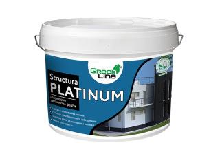 Green Line STRUCTURA PLATINUM 10л Структурная силиконовая краска
