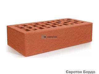 Картинка Кирпич лицевой клинкерный Бордо М300 производство Евротон