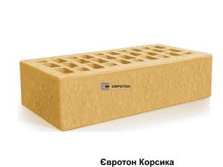 Картинка Кирпич лицевой клинкерный Корсика М300 производство Евротон