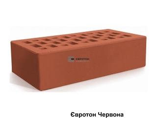 Картинка Кирпич лицевой клинкерный Красный производство Евротон