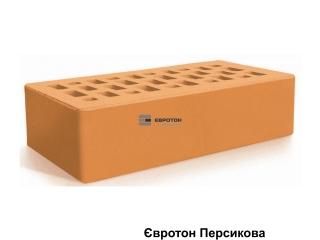 Картинка Кирпич лицевой клинкерный Персиковый производство Евротон