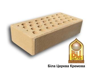 Картинка Кирпич лицевой Кремовый М200 производство ООО Белоцерковские стройматериалы