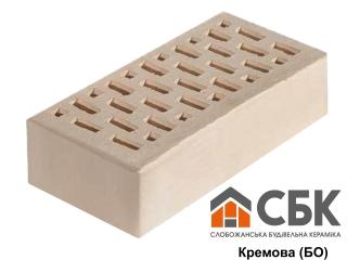 Картинка Кирпич лицевой СБК Белый Кремовый Б0 производство Слобожанская Строительная Керамика