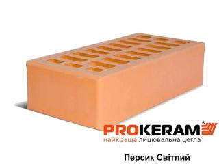 Картинка Кирпич лицевой Персик Светлый М250 производство Prokeram