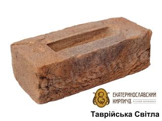 Картинка Кирпич лицевой Таврический Светлый производство Екатеринославский Кирпич