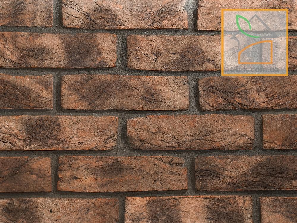 Кирпич лицевой ручной формовки Екатеринославский Графит Белая Ночь - Фото 5