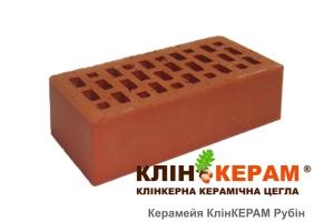 Кирпич облицовочный Керамейя КлинКЕРАМ Рубин М300