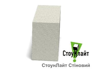 Картинка Блок газобетонный СтоунЛайт Д500 гладкий в ассортименте