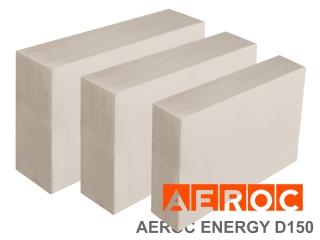 Картинка Блок газобетонный Аерок ENERGY D150 теплоизоляционные плиты в ассортименте