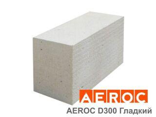 Картинка Блок газобетонный Аэрок D300-С2.5 гладкий производство г.Обухов