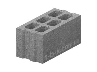 Картинка Блок бетонный стеновой ЗМ-75 40.20.20 производство Золотой Мандарин