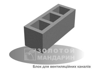 Картинка Блок для вентиляционных каналов 660*250*250 производство Золотой Мандарин