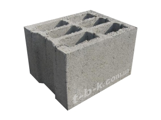 Картинка Блок бетонный стеновой СБ-ПР6 360*300*240