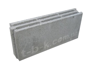 Картинка Блок бетонный перегородочный СБ-Пр5  490х100х220