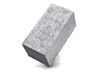 Картинка Блок бетонный стеновой СБ-ПР1 полнотелый
