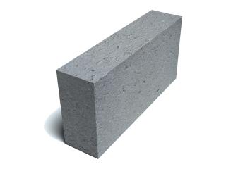 Картинка Блок бетонный перегородочный СБ-ПР2 полнотелый