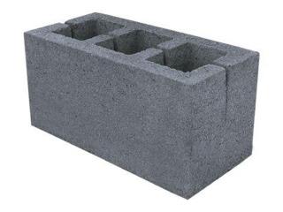 Картинка Блок бетонный стеновой МЧ-19 390*190*190