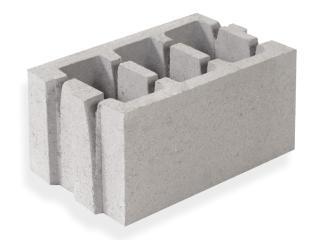 Картинка Блок керамзитобетонный стеновой СБ-ПР 40.25.20 производство Ковальская