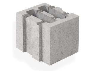 Картинка Блок керамзитобетонный стеновой СБ-ПР 20.25.20 производство Ковальская