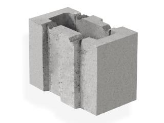 Картинка Блок керамзитобетонный стеновой СБ-ПР 13.25.20 производство Ковальская