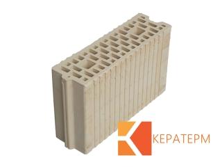Картинка Блок керамический поризованый Кератерм 100мм Производство Кузменцы