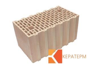 Картинка Блок керамический поризованый Кератерм 44 (440мм) производитель Кузьминецкая Строительная Керамика