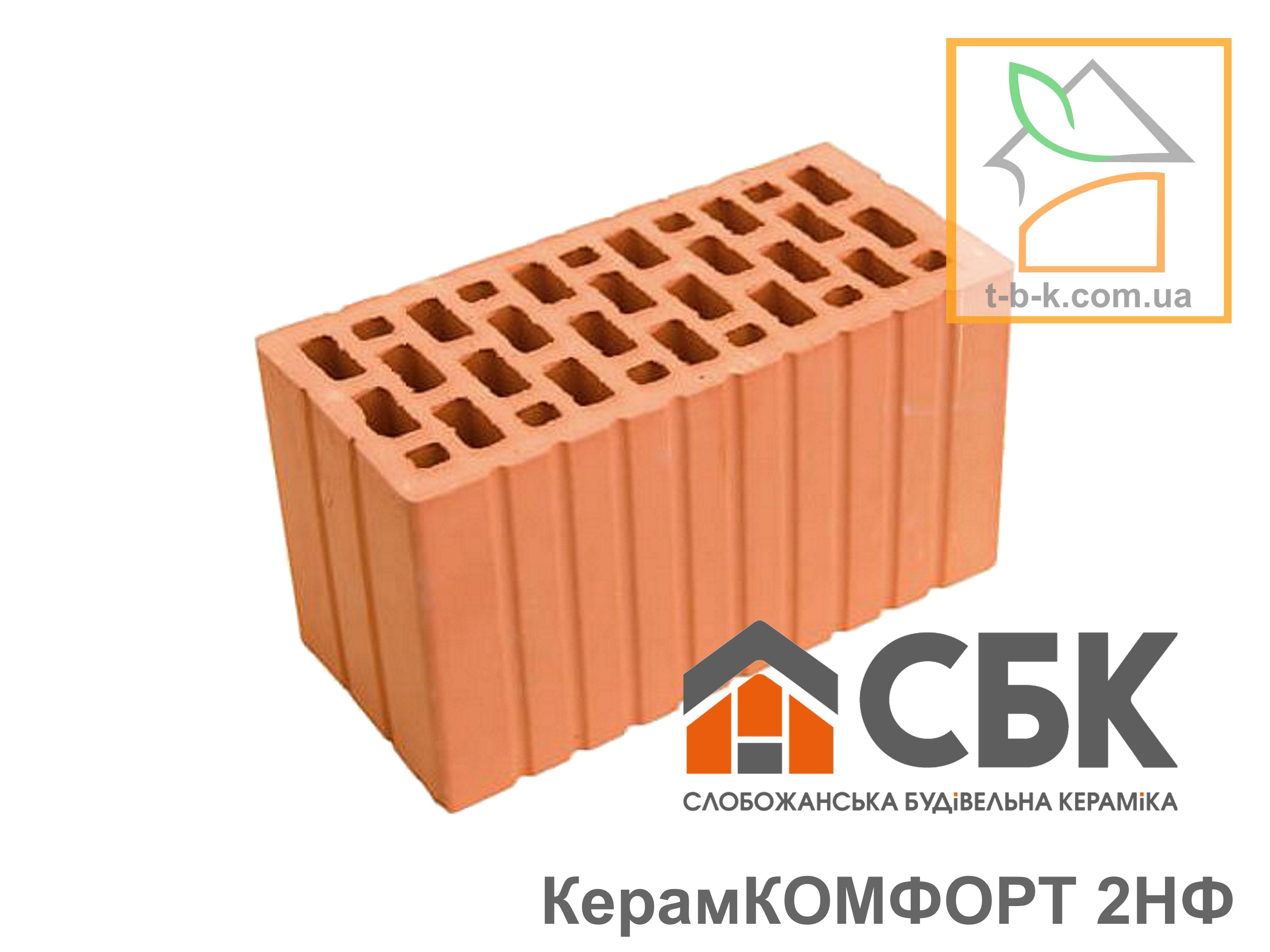 Блок керамический двойной СБК 2НФ М125
