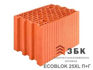 Картинка Блок керамический поризованый Русиния ECOBLOK 25XL производитель Кузьминецкая Строительная Керамика