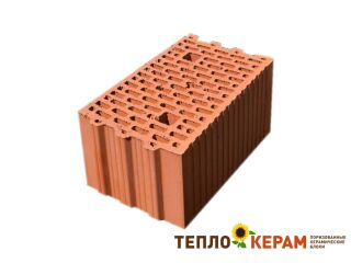 Картинка Блок керамический поризованый Кератерм 25 (250мм) производитель Керамей Сумы
