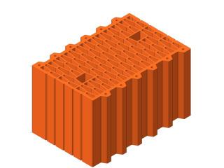 Картинка Блок керамический поризованый Керамейя ТеплоКЕРАМ 38 (380мм) производитель Керамей Сумы