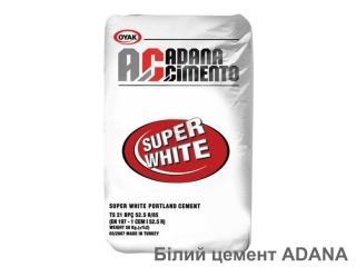 Картинка Белый цемент ADANA 25кг Турция
