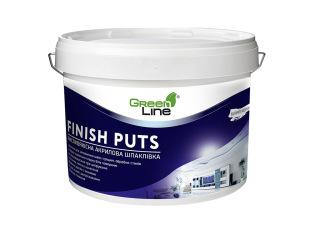 Финишная акриловая шпаклевка Green Line FINISH PUTS 1л/5л/10л/20л