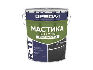 Мастика битумна «Фундаментная» Oreol 1 R-11 12кг/25кг/250кг
